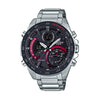 Casio Edifice Analog - Digital Black Dial Men's Watch