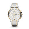 Fossil Silver-Toned Dial Men's Watch