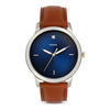Fossil The Minimalist 3H Blue Dial Men's Watch