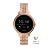 Fossil Gen 5E Rose Gold Women's Smart Watch - FTW6073