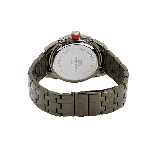 Gio Collection Grey Dial Men's Watch - G1001-44