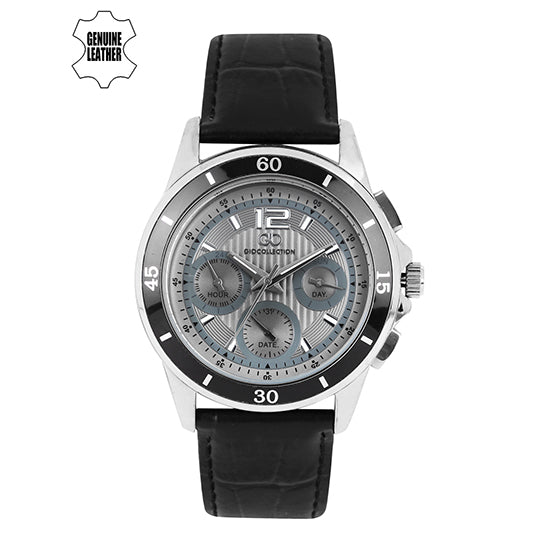 Gio Collection Grey Dial Men's Watch - G1002-03