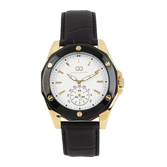 Gio Collection White Dial Men's Watch - G1003-04