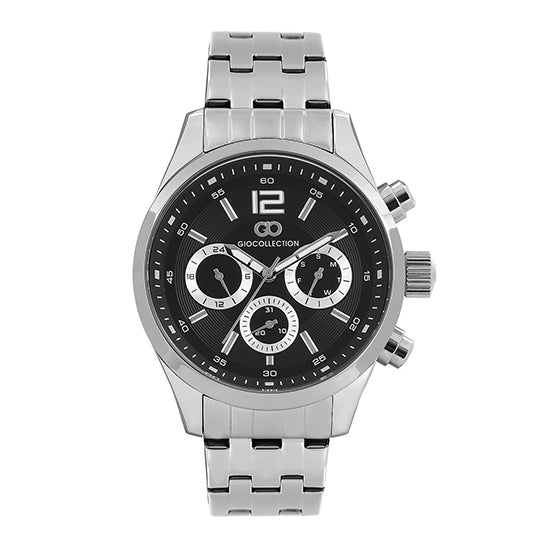 Gio Collection Black Dial Men's Watch - G1008-22