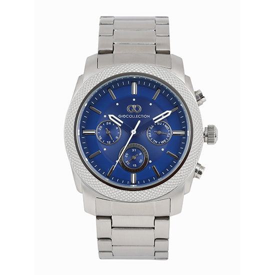 Gio Collection Blue Dial Men's Watch - G1013-11