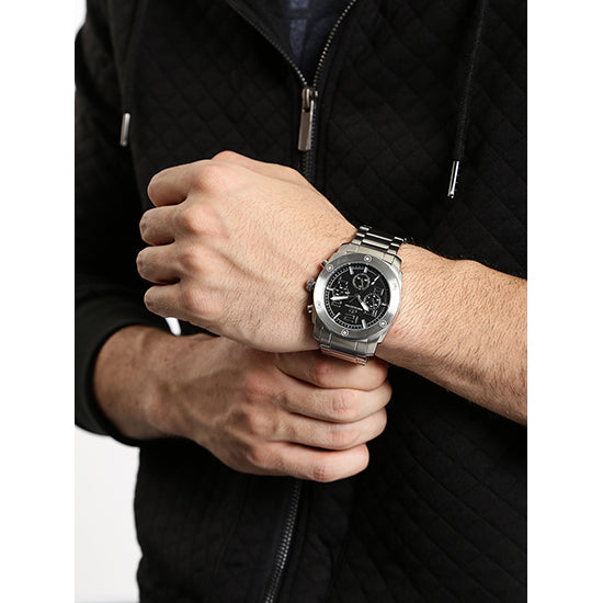 Gio Collection Black Dial Men's Watch - G1015-22