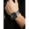 Gio Collection Black Dial Men's Watch - G1015-55