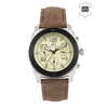 Gio Collection Gold Dial Men's Watch