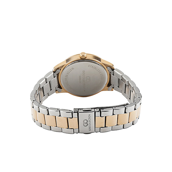 Gio Collection White Dial Women's Watch - G2002-55