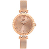 Gio Collection Rose Gold Dial Women's Watch