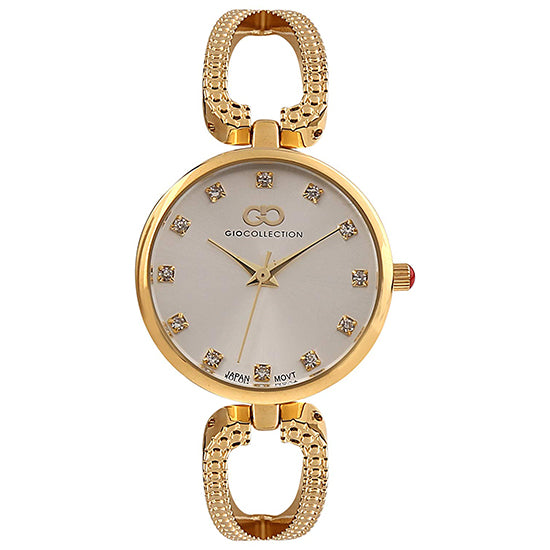 Gio Collection Gold Dial Women's Watch - G2055-22