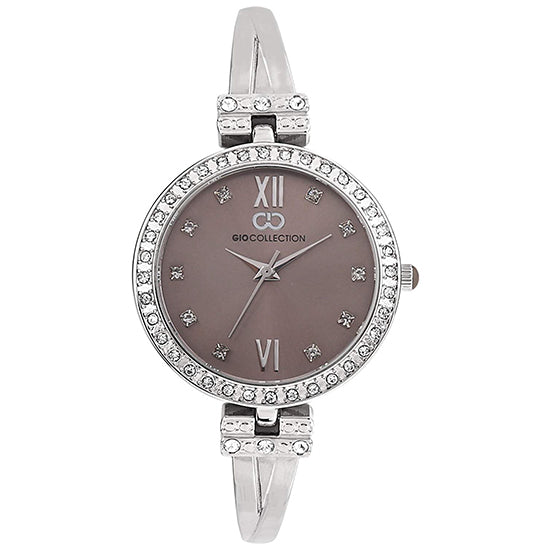 Gio Collection Grey Dial Women's Watch - G2100-11