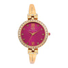 Gio Collection Red Dial Women's Watch - G2100-22