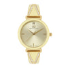 Gio Collection Cream Dial Women's Watch - G2110-11