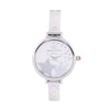 Gio Collection Silver Dial Women's Watch