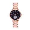 Giordano Black Dial Women's Watch