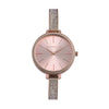 Giordano Rose Gold Dial Women's Watch