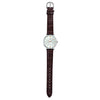 Casio Enticer Analog Silver Dial Women's Watch - LTP-VT01L-7B2UDF