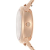 Fossil Tailor Rose Gold Dial Women's Watch