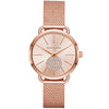 Michael Kors Portia Rose Gold Dial Women's Watch - MK3845