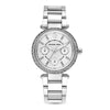 Michael Kors Mini Parker White Mother of Pearl Dial Women's Watch