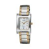 Casio Enticer White & Golden Dial Women's Watch - SH46