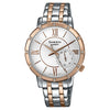Casio Sheen White Dial Women's Watch - SX165