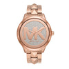 Michael Kors Runway Mercer Rose Gold Dial Women's Watch