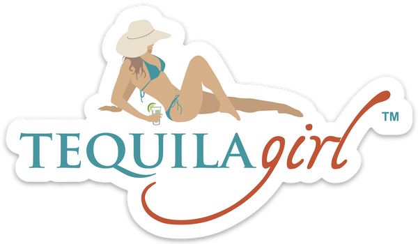 Tequila Girl Sticker