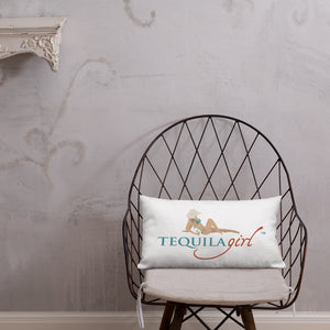 Tequila Girl™ Premium Throw Pillow