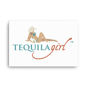 Tequila Girl™ Canvas Art