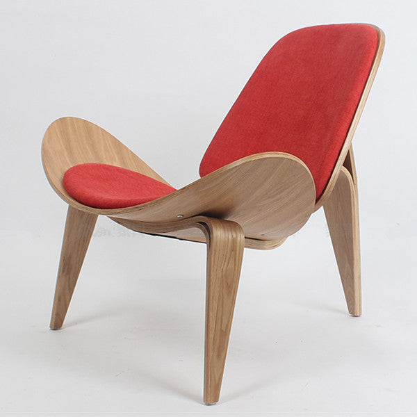 Three-Legged Shell Chair
