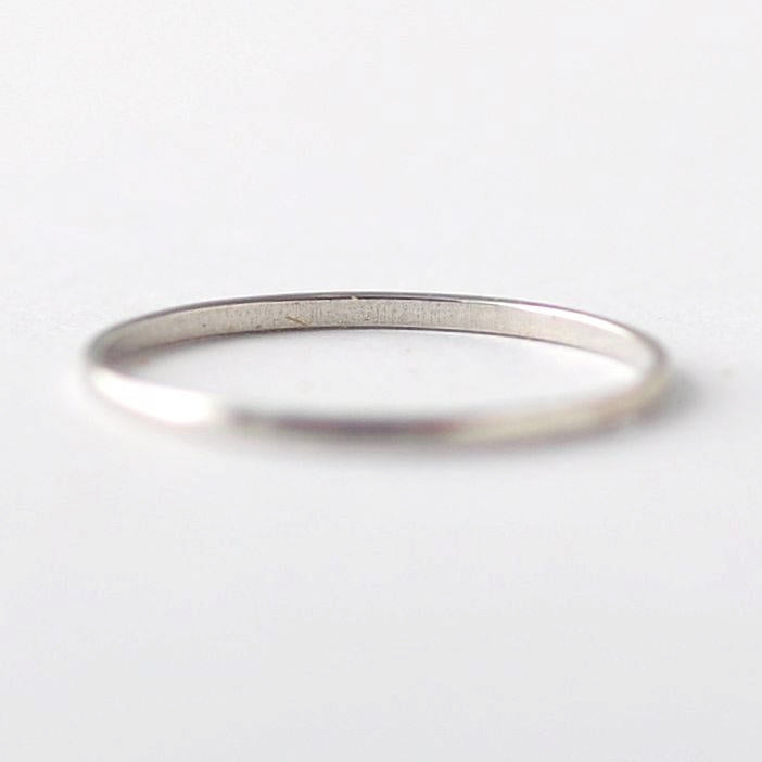 Half Round PT950 Platinum Band: Matching Wedding Rings