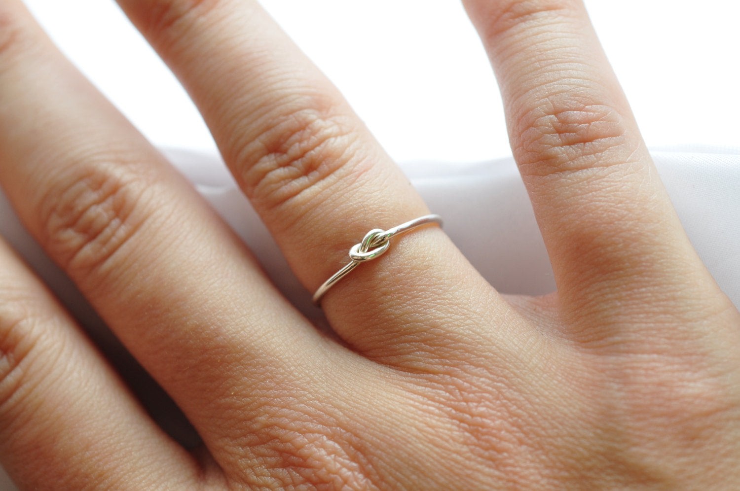 Friendship Rings: Silver Knot Jewelry, Gifts for Best Friends