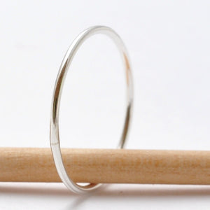 Silver Knuckle Rings: Simple Sterling Silver Bands, Affordable Valentines Gifts