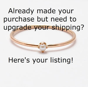 Upgrade Your Shipping Method After Purchase to USPS Priority