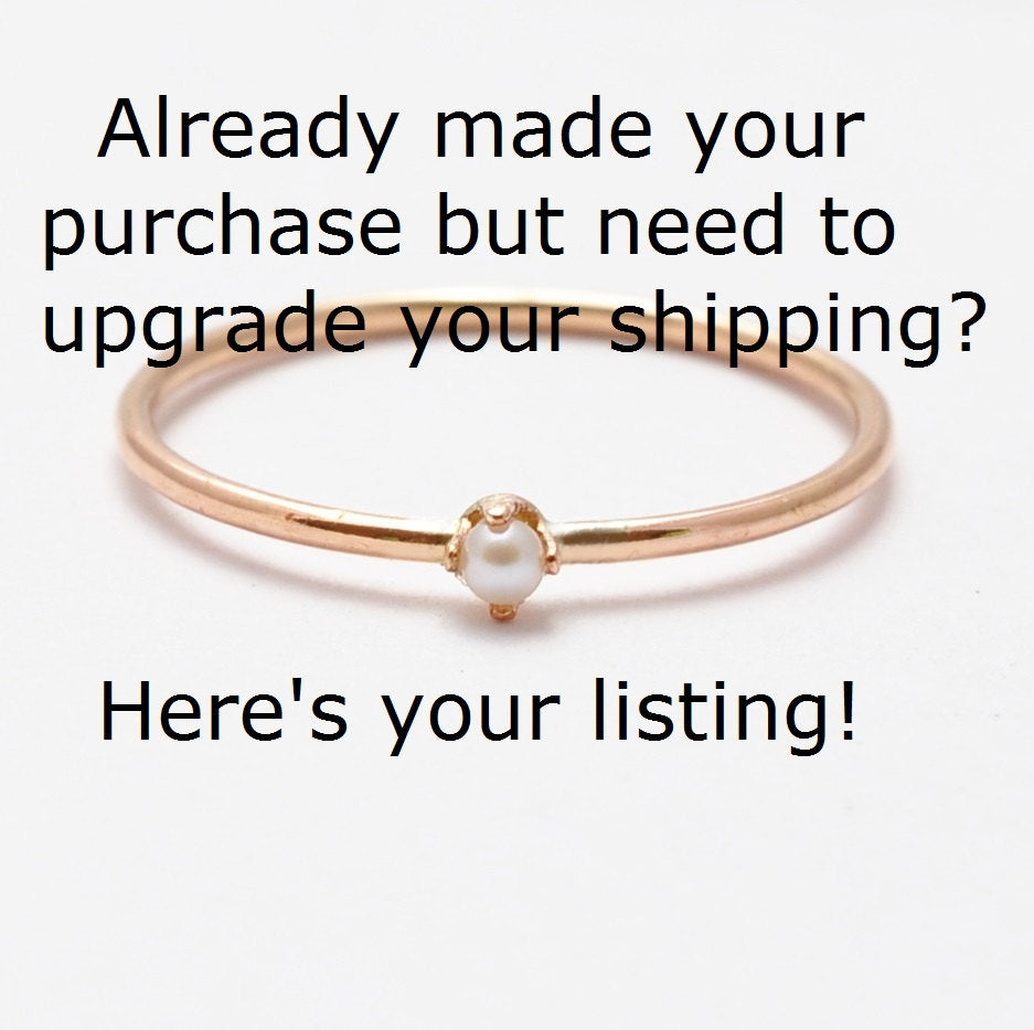 Upgrade Your Shipping Method After Purchase to USPS Express