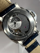 Load image into Gallery viewer, Panerai Luminor Due 3-Days Blue