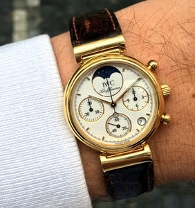 IWC Da Vinci Moonphase Chronograph