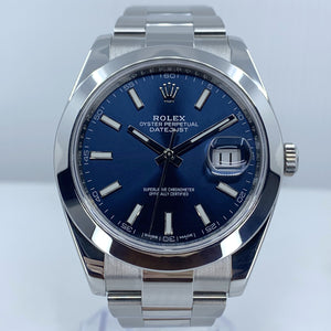 Rolex Datejust 41 Blue