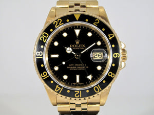 Rolex GMT-Master II Yellow Gold