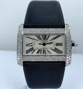 Cartier Tank Divan White Gold