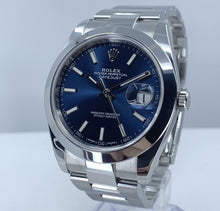 Load image into Gallery viewer, Rolex Datejust 41 Blue