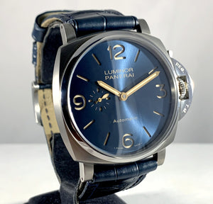 Panerai Luminor Due 3-Days Blue