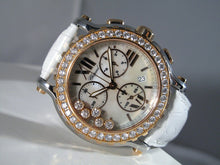 Load image into Gallery viewer, Chopard Happy Sport Chrono Floating Diamonds