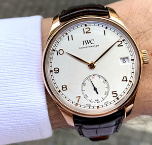 IWC Portuguese 8-Days Hand-Wound