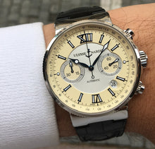 Load image into Gallery viewer, Ulysse Nardin Maxi Marine Chronograph