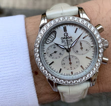 Load image into Gallery viewer, Omega De Ville Co-Axial Chronograph Diamonds