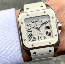 Load image into Gallery viewer, Cartier Santos 100 Automatic