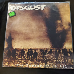 Disgust - The Horror Of It All... LP